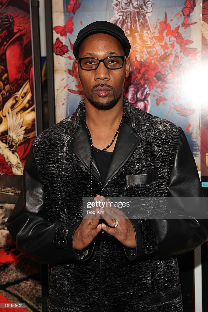 RZA attends 'The Man with the Iron Fists' screening at the Lighthouse International Theater on October 27 2012 in New York City