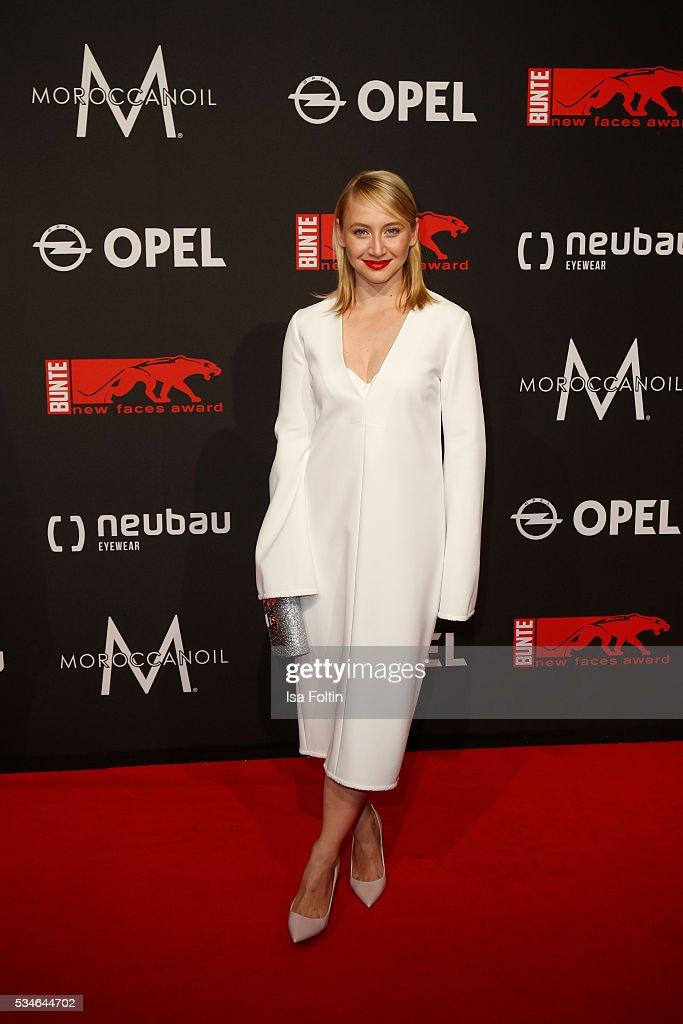 attends the New Faces Award Film 2016 at ewerk on May 26, 2016 in Berlin, Germany.