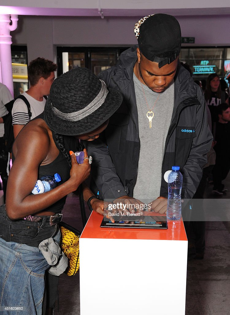 attends the Nokia Lumia 630 #100aires Pop-up store, at The Old Truman Brewery on July 2, 2014 in London, England.