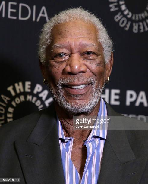 attends The Paley Center presents 'The Story Of Us' with Morgan Freeman' at The Paley Center for Media on September 28 2017 in New York City