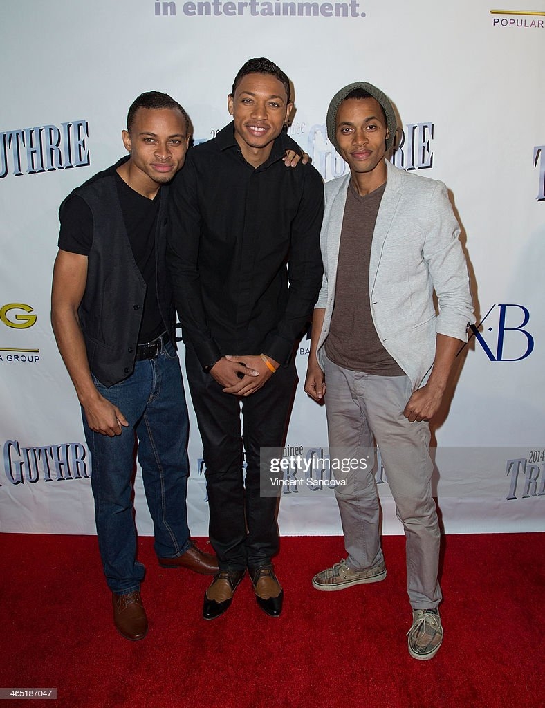 AKNU attends the Pre-Grammy Celebration Party for Trevor Guthrie on January 25, 2014 in Los Angeles, California.