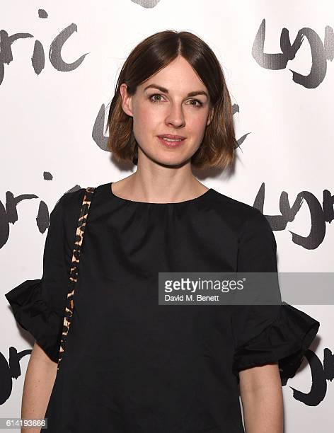 attends the press night performance of 'Shopping And Fucking' at The Lyric Hammersmith on October 12 2016 in London England