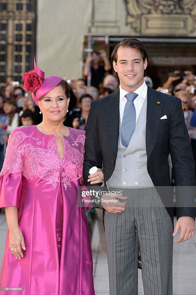 attends the Religious Wedding Of Prince Felix Of Luxembourg & Claire Lademacher at the Basilique Sainte Marie-Madeleine on September 21, 2013 in Saint-Maximin-La-Sainte-Baume, France.