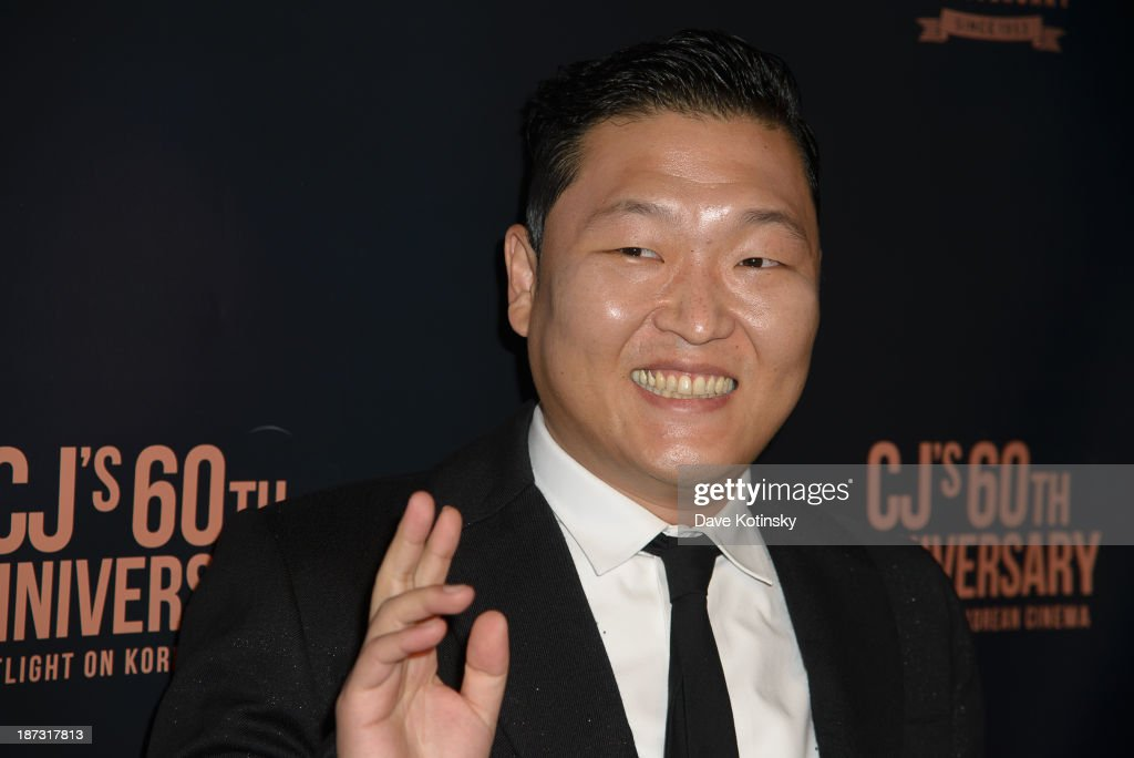 PSY attends the Spotlight On Korean Cinema event at Museum of Modern Art on November 7, 2013 in New York City.