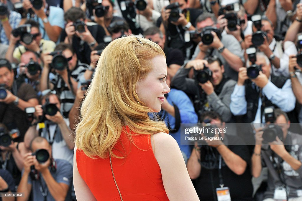 attends the 'The Paperboy' photocall during the 65th Annual Cannes Film Festival at Palais des Festivals on May 24, 2012 in Cannes, France.