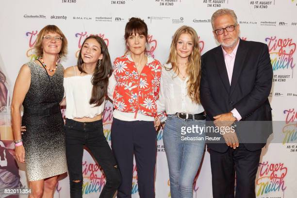 attends the 'Tigermilch' premiere at Kino in der Kulturbrauerei on August 15 2017 in Berlin Germany