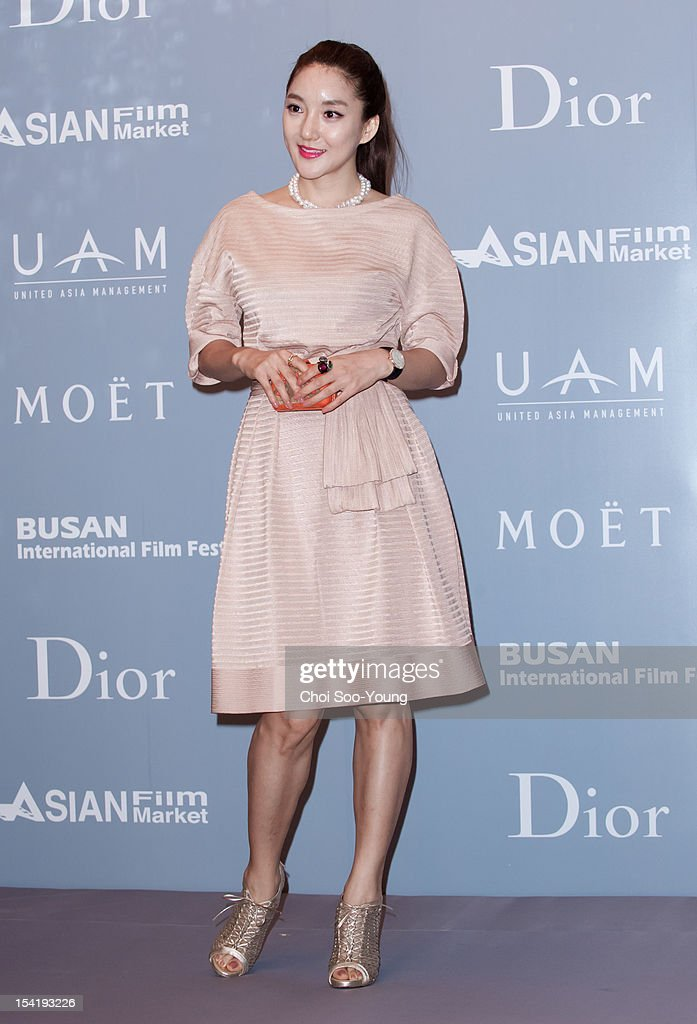 VADA attends the 'United Asian Film Night with Christian Dior' in conjunction with the Busan International Film Festival(BIFF) at the Westin Chosun Hotel on October 8, 2012 in Busan, South Korea.