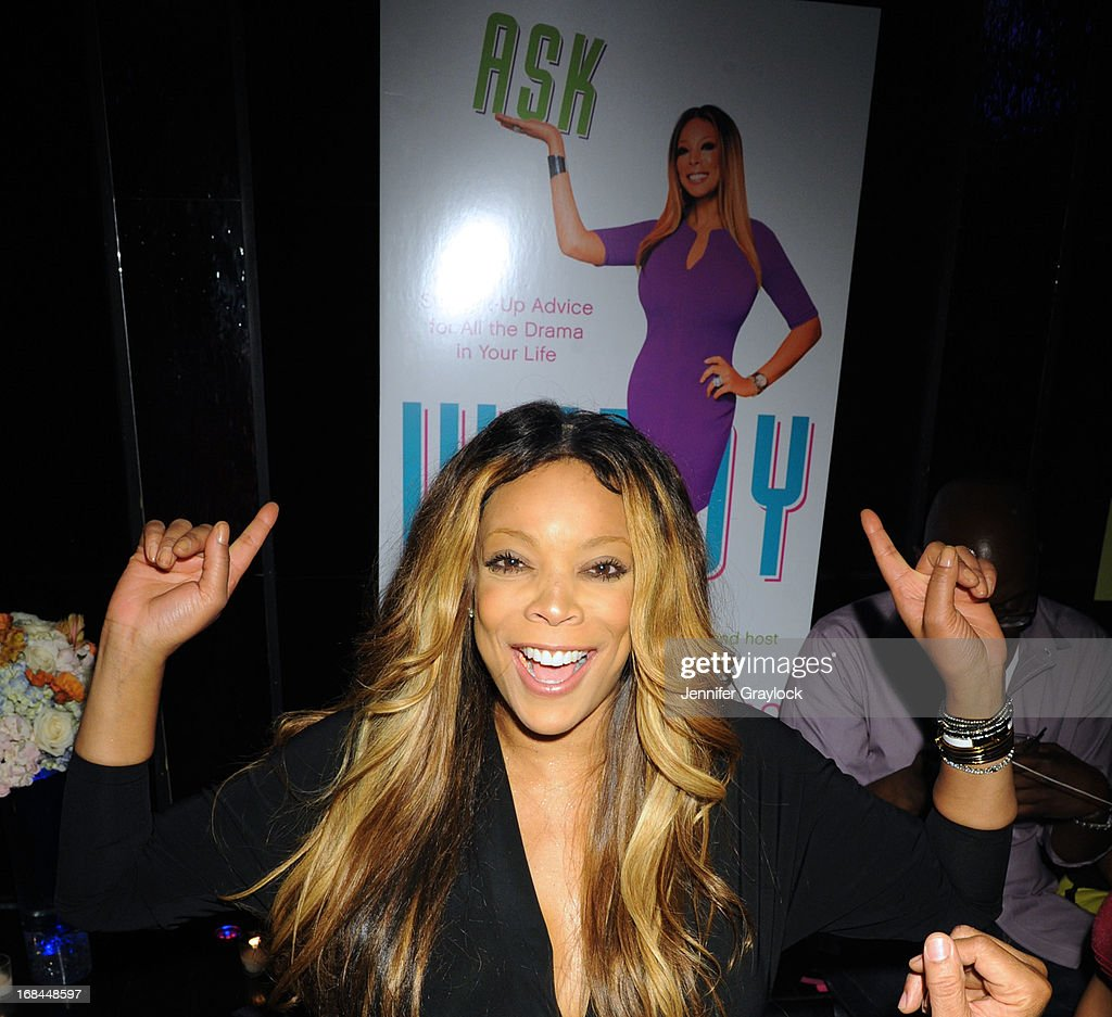 attends the Wendy Williams Debuts 'Ask Wendy' By Harper Collins Book Release Party at The Pink Elephant on May 9, 2013 in New York City.