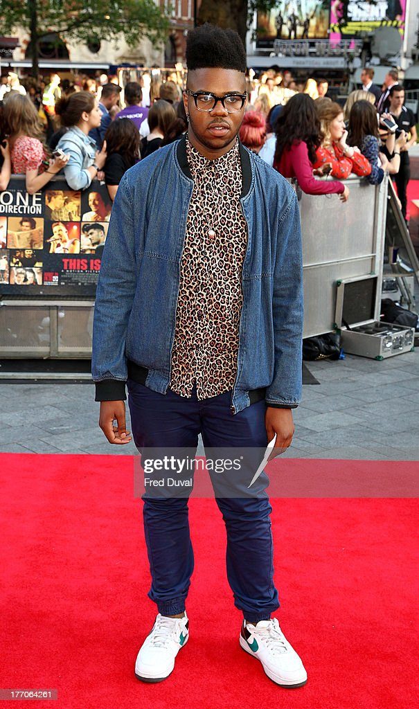 MNEK attends the World Premiere of 'One Direction: This Is Us' at Empire Leicester Square on August 20, 2013 in London, England.