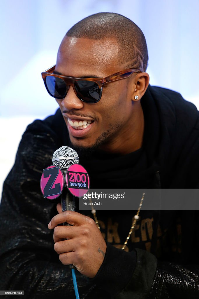 B attends the Z100 Artist Gift Lounge Presented by Pop Tarts at Z100's Jingle Ball 2012 at Madison Square Garden on December 7, 2012 in New York City.