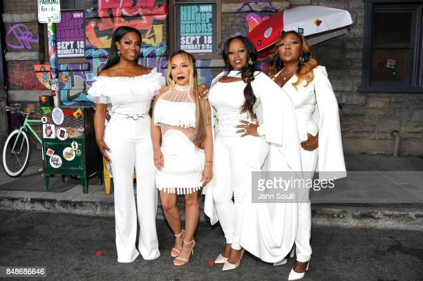 XSCAPE attends VH1 Hip Hop Honors The 90s Game Changers at Paramount Studios on September 17 2017 in Los Angeles California