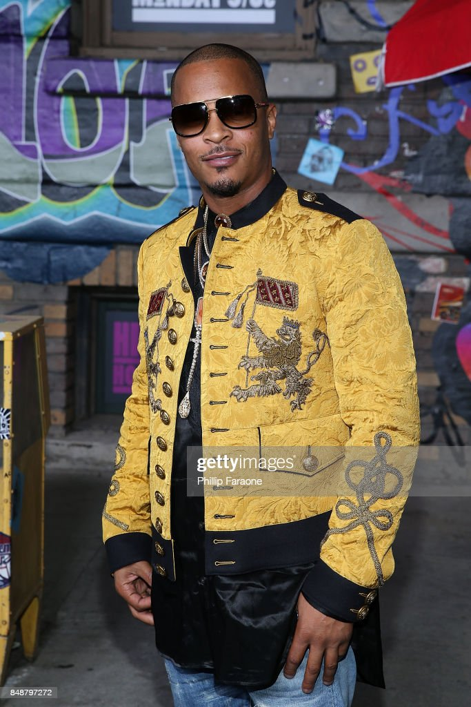 T.I. attends VH1's Hip Hop Honors: The 90's Game Changers at Paramount Studios on September 17, 2017 in Hollywood, California.
