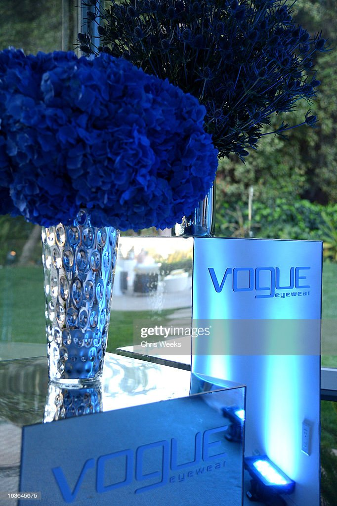 attends Vogue Eyewear and Eva Mendes celebrate the launch of the Spring/Summer Communications Campaign at Simon House on March 13, 2013 in Beverly Hills, California.