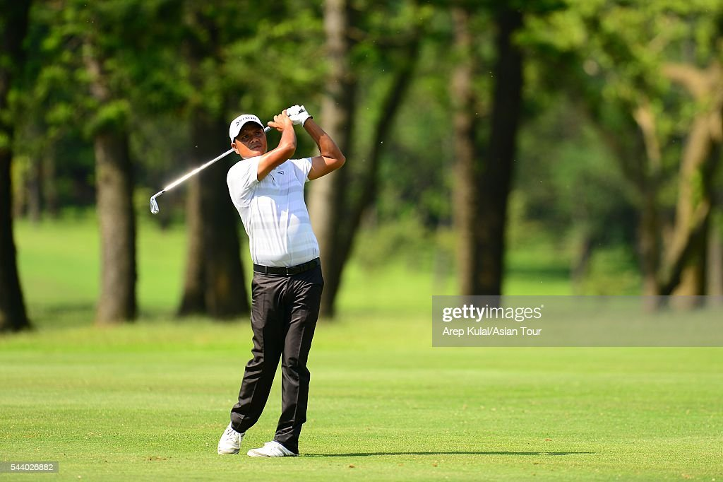 Atthaphon Sriboonkaew of Thailand pictured during the round 2 of the Yeangder Tournament Players Championship 2016 at Linkou International Golf Club on July 1, 2016 in Taipei, Taiwan.