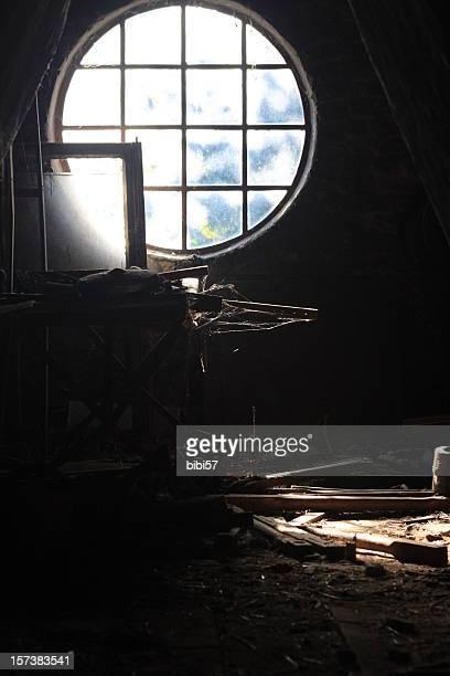 Dachgeschoss-Fenster