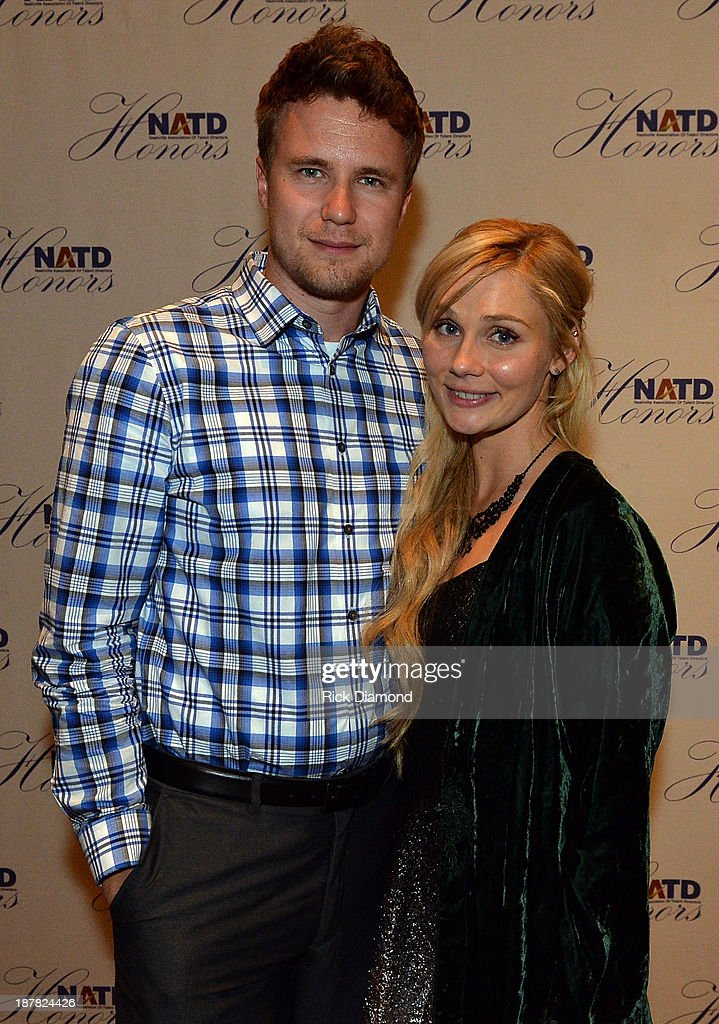 Attorney Alex Fasching and his girlfriend ABC TV's 'Nashville' Singer/Songwriter <a gi-track='captionPersonalityLinkClicked' href=/galleries/search?phrase=Clare+Bowen&family=editorial&specificpeople=5711319 ng-click='$event.stopPropagation()'>Clare Bowen</a> attend the 3rd. annual NATD Honors 2013 at the Hermitage Hotel on November 12, 2013 in Nashville, Tennessee.