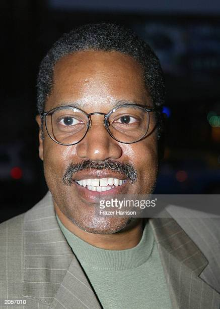 Attorney and radio talk show host based in Southern California Larry Elder arrives for 'The Smothers Brothers show' at the Comedy Store on June 4...