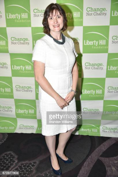 Attorney and women's right activist Sandra Fluke attends the Upton Sinclair Awards at The Beverly Hilton Hotel on April 20 2017 in Beverly Hills