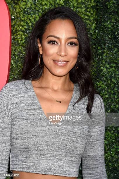 Attorney Angela Rye attends the YouTube Pre BET Awards Showcase at NeueHouse Hollywood on June 24 2017 in Los Angeles California