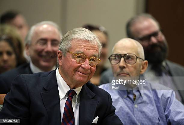 Attorney Dick DeGuerin appears in court with hiss client real estate heir Robert Durst in the Airport Branch of the Los Angeles County Superior Court...