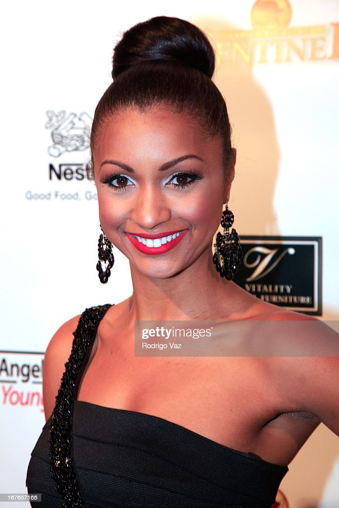 Attorney Eboni Williams arrives at the 3rd Annual 'To The Nines' After Party hosted by LA Urban League Young Professionalsat The Beverly Hilton Hotel on April 26, 2013 in Beverly Hills, California.