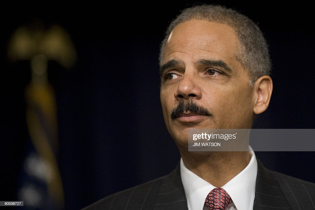 Eric Holder Speaks On Gang Violence And Crime At White House Conference