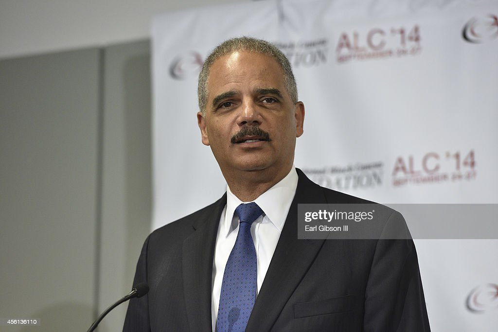 Attorney General Eric Holder speaks at the Voting Rights Braintrust at the Congressional Black Caucus Foundation Inc. 44th Annual Legislative Conference at Walter E. Washington Convention Center on September 26, 2014 in Washington, DC. Attorney General Eric Holder has announced that after six years he will resign from the helm of the Justice Department.