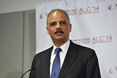 Attorney General Eric Holder speaks at the Voting Rights Braintrust at the Congressional Black Caucus Foundation Inc 44th Annual Legislative...