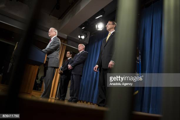 Attorney General Jeff Sessions announces that the National Insider Threat Task Force will be increasing its efforts to combat the leaking of...