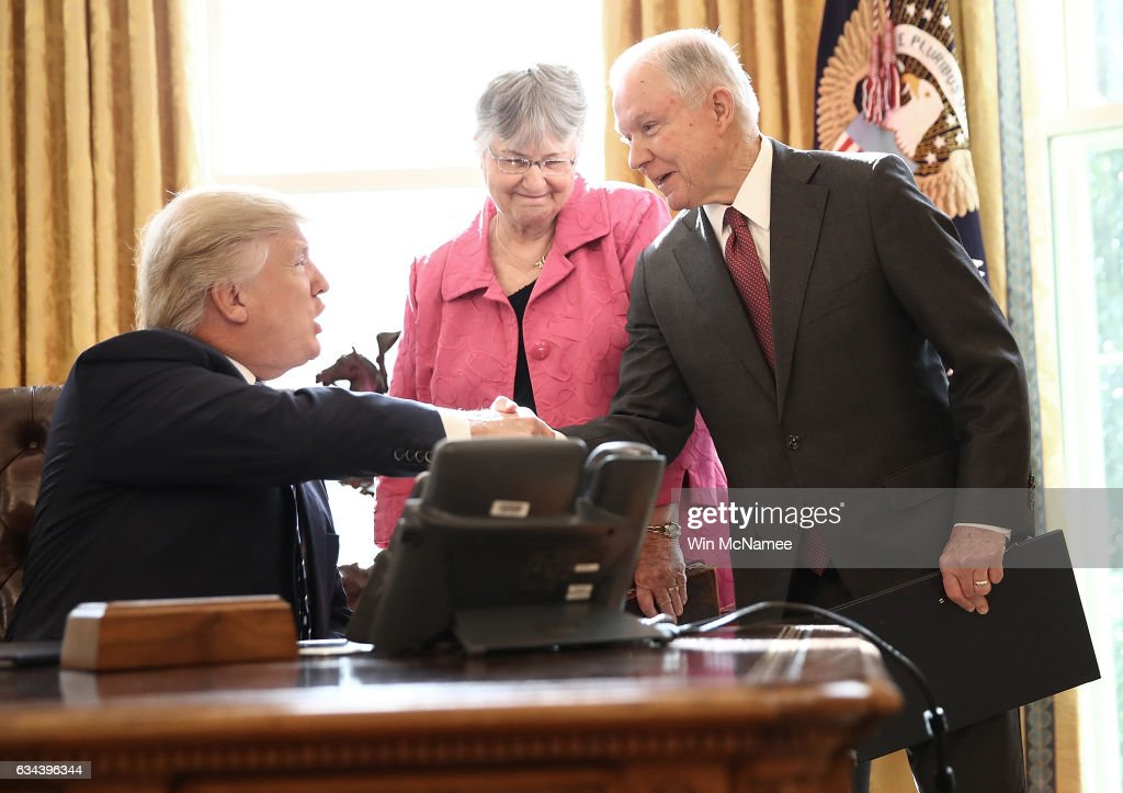 Image result for PHOTOS OF JEFF SESSIONS AT WHITE HOUSE