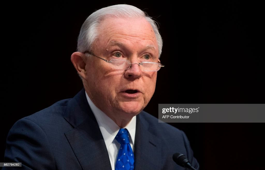 AG Jeff Sessions Testifies Before The Senate Judiciary Committee