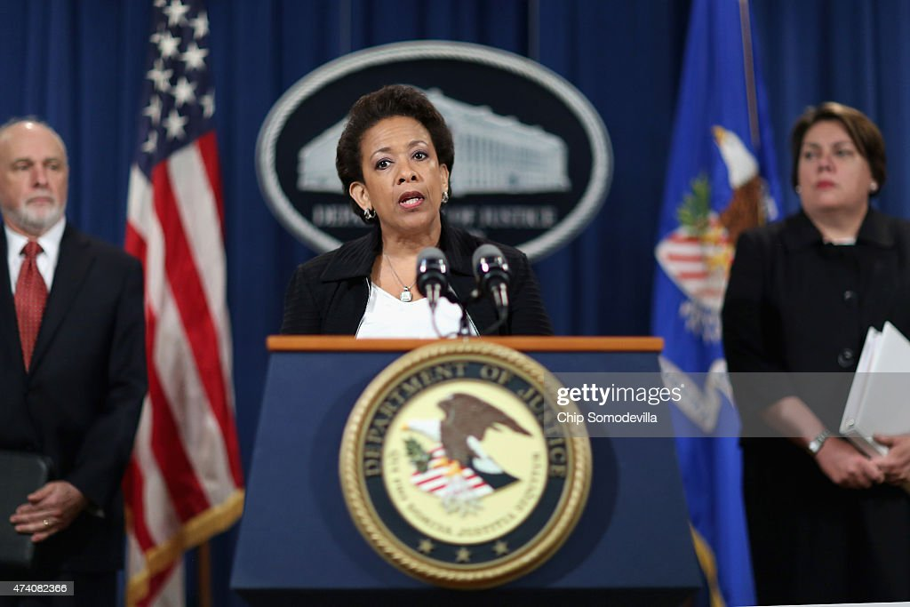 Attorney General Loretta Lynch Announces Currency Manipulation Settlement With Major Financial Institutions