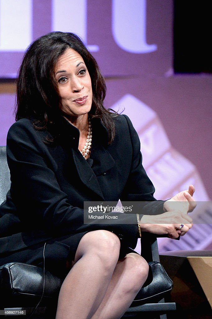 Attorney General of California Kamala D. Harris speaks onstage during 'Disrupting Politics' at the Vanity Fair New Establishment Summit at Yerba Buena Center for the Arts on October 9, 2014 in San Francisco, California.