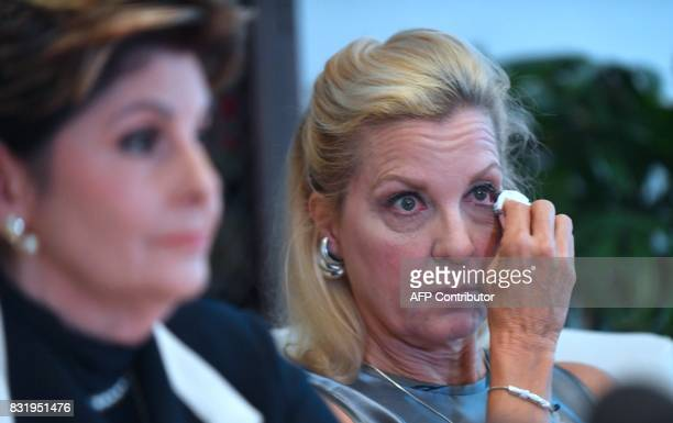 Attorney Gloria Allred addresses the media as Robin another accuser of Roman Polanski who alleges she was 16 years old when sexually victimized by Mr...