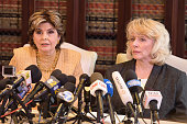 Gloria Allred Holds Press Conference With Harvey...