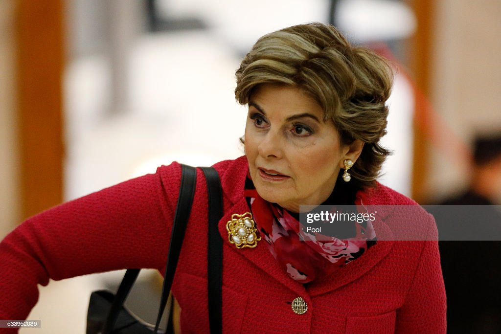 Attorney <a gi-track='captionPersonalityLinkClicked' href=/galleries/search?phrase=Gloria+Allred&family=editorial&specificpeople=213999 ng-click='$event.stopPropagation()'>Gloria Allred</a> arrives at the Montgomery County Courthouse for Bill Cosby's preliminary hearing May 24, 2016 in Norristown, Pennsylvania. Cosby is accused of drugging and molesting a woman at his home in 2004.