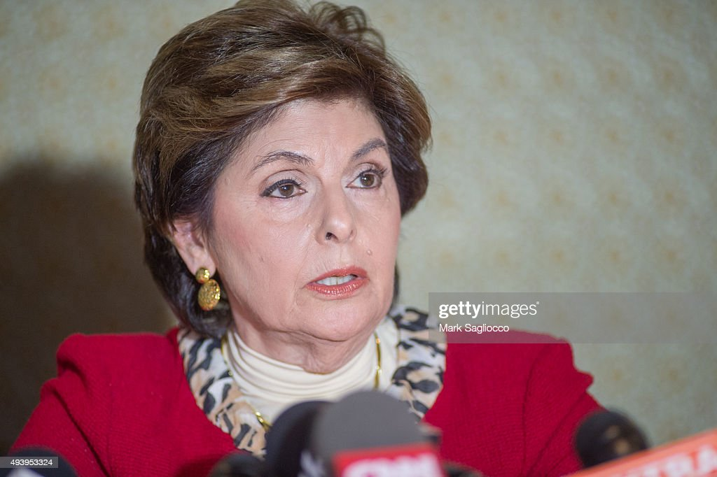 Attorney <a gi-track='captionPersonalityLinkClicked' href=/galleries/search?phrase=Gloria+Allred&family=editorial&specificpeople=213999 ng-click='$event.stopPropagation()'>Gloria Allred</a> attends the press conference with new accusers of Bill Cosby at Omni Berkshire Place Hotel on October 23, 2015 in New York City.