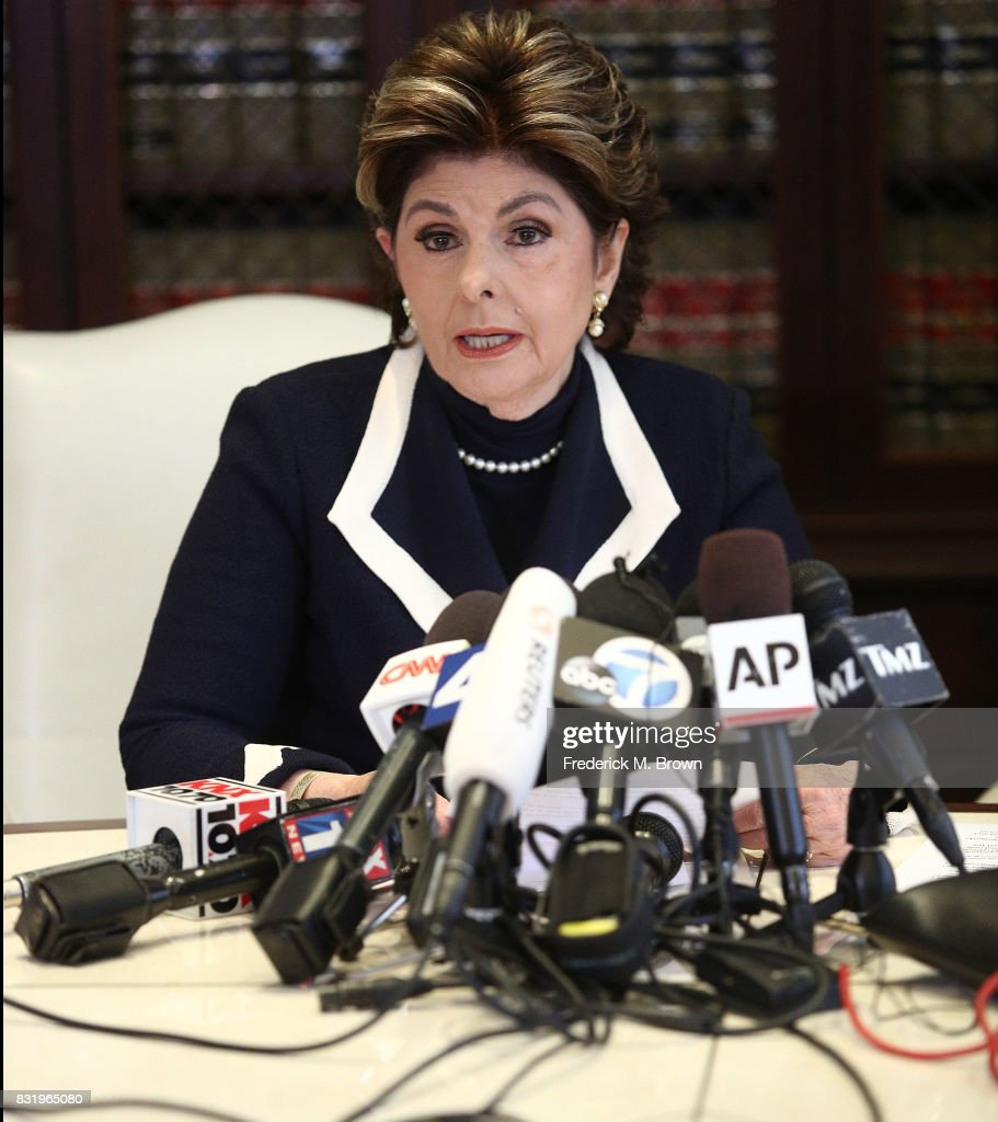 Attorney Gloria Allred speaks regarding Roman Polanski during press conference on August 15, 2017 in Los Angeles, California.