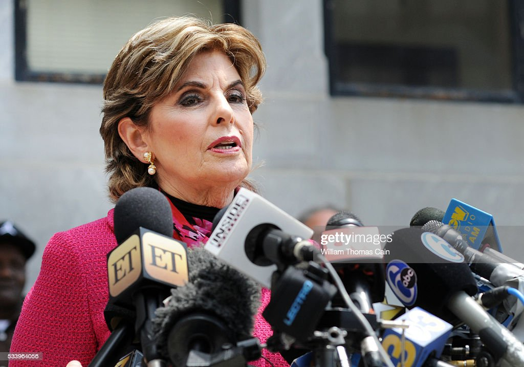 Attorney <a gi-track='captionPersonalityLinkClicked' href=/galleries/search?phrase=Gloria+Allred&family=editorial&specificpeople=213999 ng-click='$event.stopPropagation()'>Gloria Allred</a> speaks with the media after a Pennsylvania judge ruled that there was enough evidence to proceed with trial for Bill Cosby, on sexual assault charges, May 24, 2016 in at Montgomery County Courthouse in Norristown, Pennsylvania.