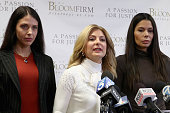 Lisa Bloom Holds Press Conference For 2 Victims...