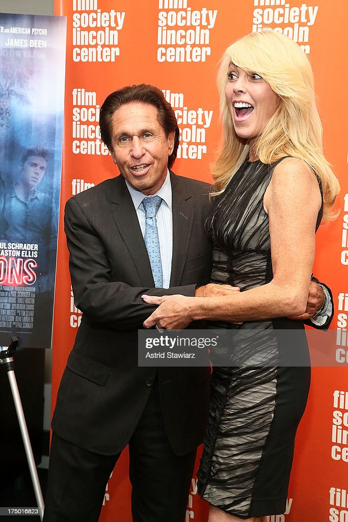 Attorney Mark Heller and Dina Lohan attend a screening of 'The Canyon' presented by Film Society of Lincoln Center at The Film Society of Lincoln Center, Walter Reade Theatre on July 29, 2013 in New York City.
