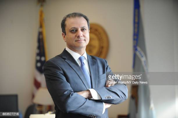 US Attorney Preet Bharara is photographed for NY Daily News on March 11 in New York City