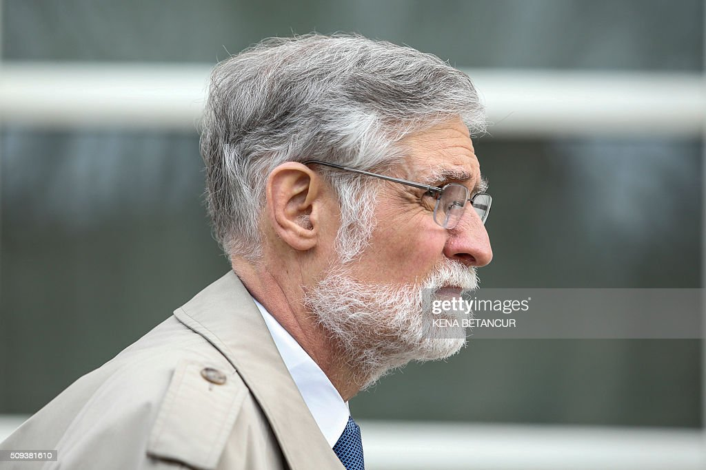 Attorney Thomas Zeno leaves the Brooklyn Federal Court after attending the hearing of Eduardo Li, former president of the Costa Rican Football Federation on the FIFA case on February 10, 2016 in New York. US judge on Wednesday refused to release a FIFA corruption scandal suspect on bail, saying the man's proposal to post $5 million was not enough. Judge Robert Levy scheduled a new hearing February 23 for the suspect, Eduardo Li, the former president of the Costa Rican Football Federation. / AFP / KENA BETANCUR