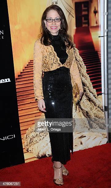 Attorney Vicki Roberts arrives for Viva Glam Magazine Society Unici in collaboration with Peace 4 Animals presents 'Gold' a PreOscar Party and...