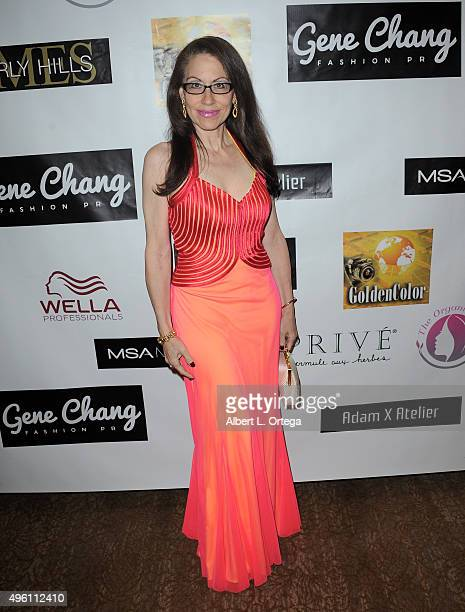 Attorney Vicki Roberts attends 'Reel Haute' In Hollywood International Couture Fashion Show held at The Beverly Hilton Hotel on November 6 2015 in...