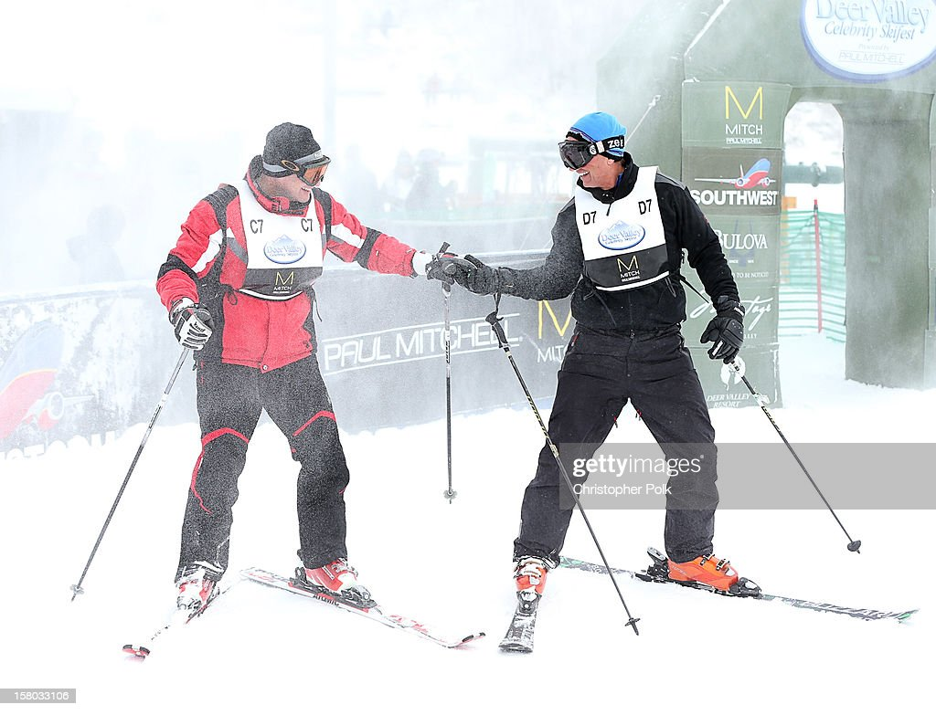 Attorney/Author Robert F. Kennedy Jr. and VP, Alternative Programming for NBC Enrique Guillen attend the Deer Valley Celebrity Skifest at Deer Valley Resort on December 9, 2012 in Park City, Utah.
