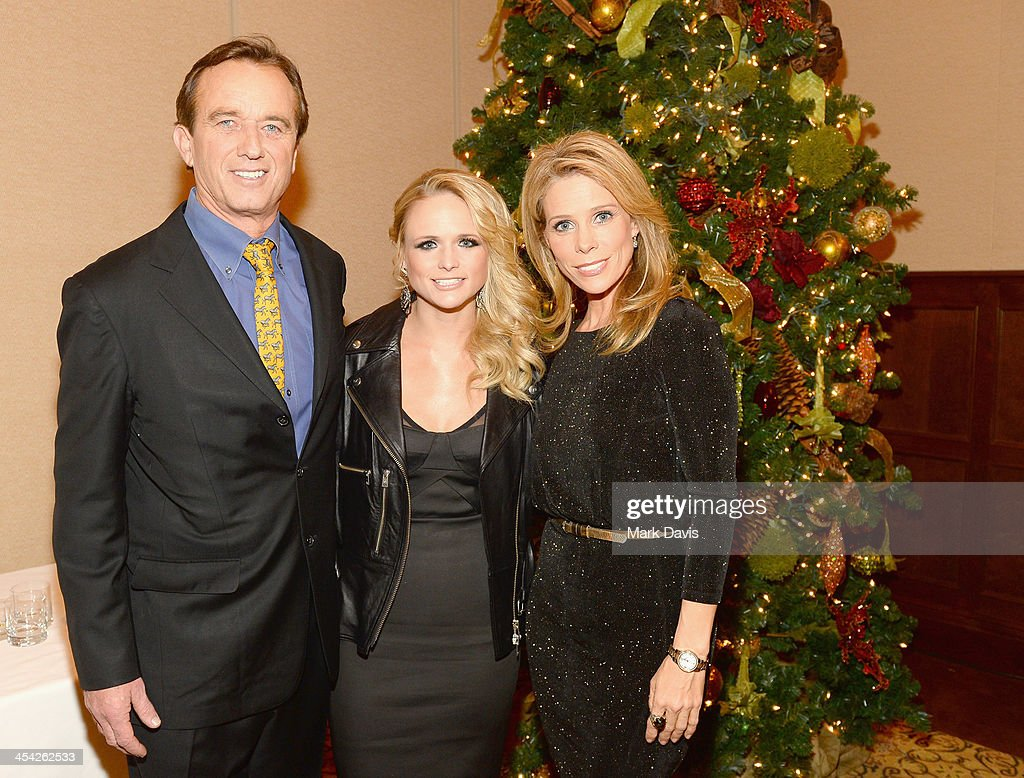 Attorney/radio personality Robert F. Kennedy, Jr., recording artist Miranda Lambert and actress Cheryl Hines attend the Waterkeeper Alliance Benefit during Day 2 of the Deer Valley Celebrity Skifest held at Montage Deer Valley on December 7, 2013 in Park City, Utah.