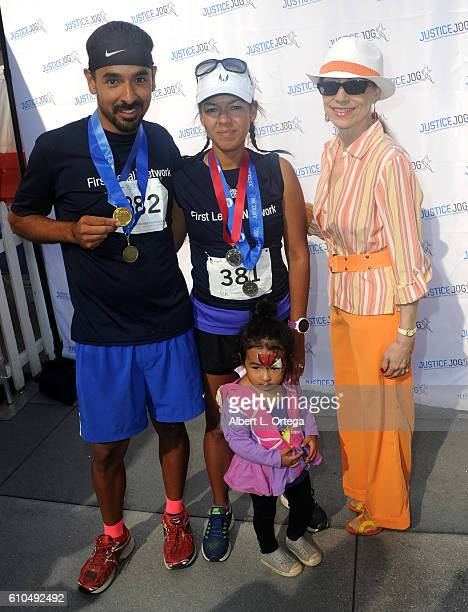 Attorney/TV personality Vicki Roberts participates in the 2016 Justice Jog 5K to benefit Casa LA on September 25 2016 in Los Angeles California