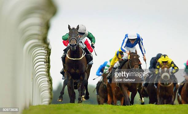 Attraction ridden by K Darley wins race 3 The Coronation Stakes during the fourth day of Royal Ascot at the Ascot Racecourse on June 18 2004 in...