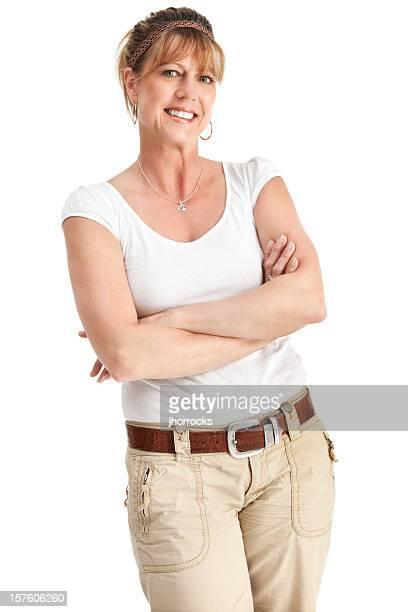Attractive Casual Mature Woman